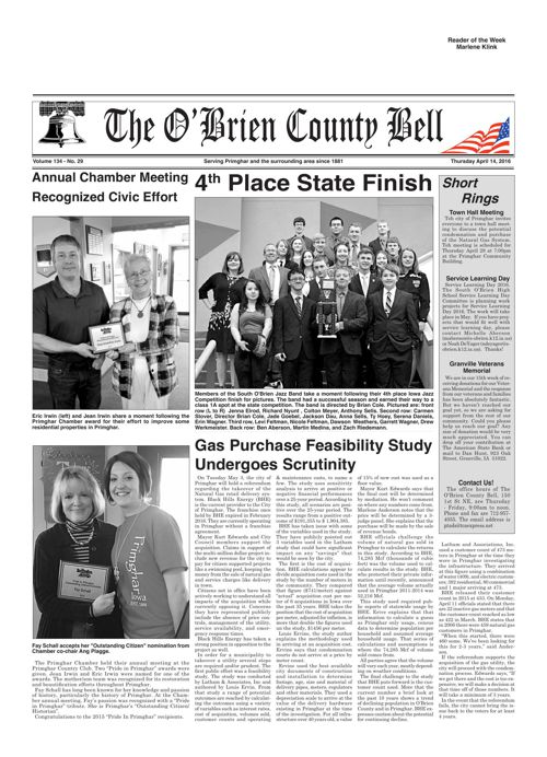 O'Brien County Bell and Paullina Times April 14, 2016