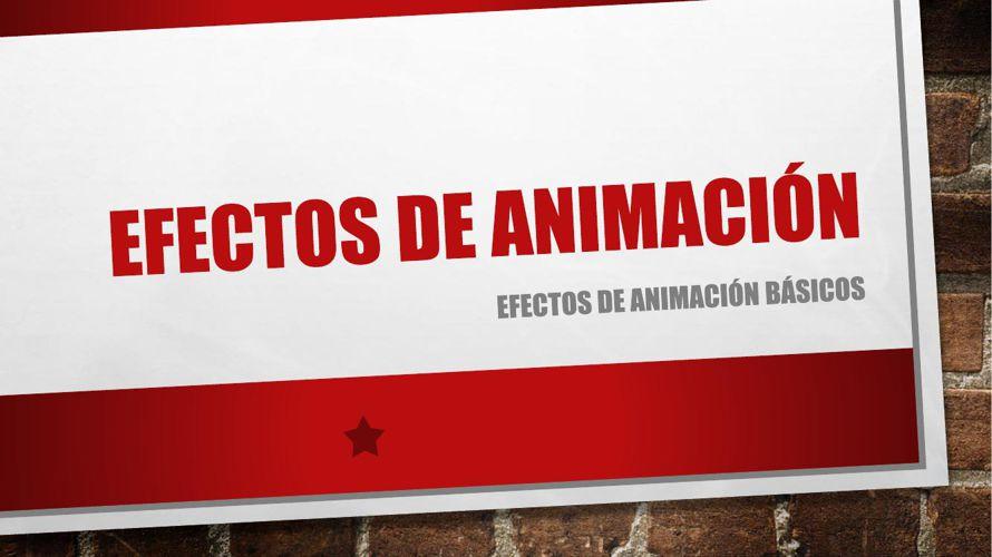 Efectos de animación (fuente)