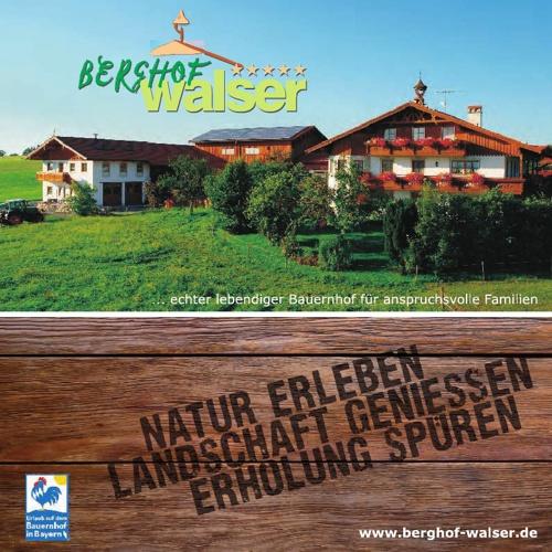 Berghof Walser Hausprospekt