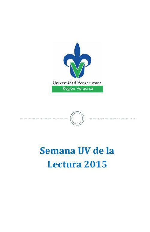 Semana UV de la lectura 2015