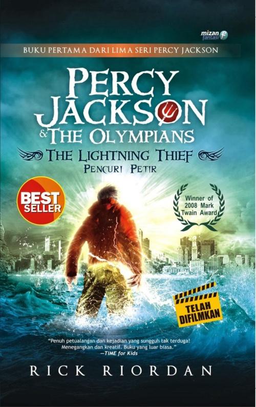 Rick Riordan - Percy Jackson & the Olympians - Pencuri Petir
