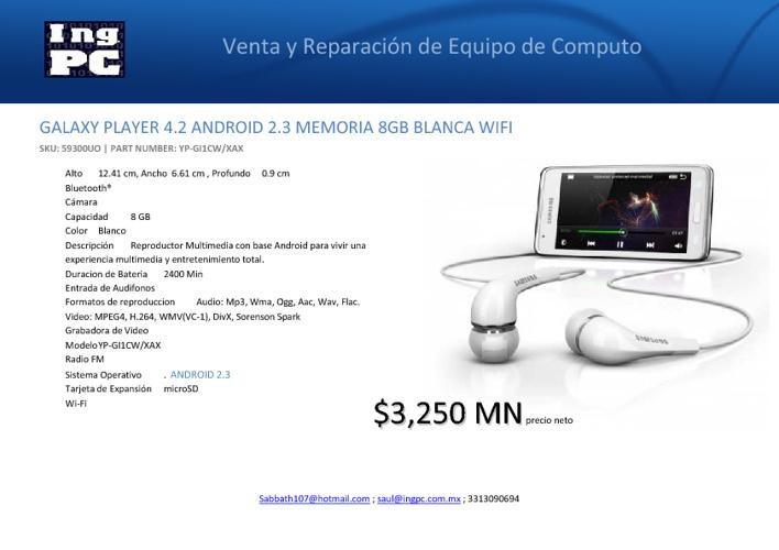 Catalogo Tablets IngPC