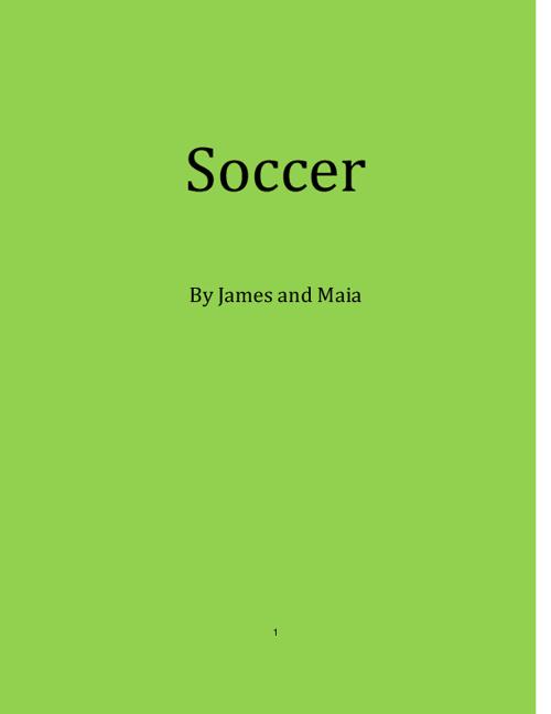 Maia & James-Soccer