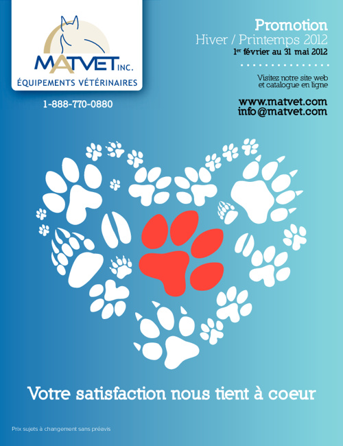 Matvet - Promotion Printemps 2012