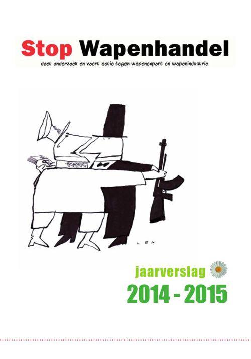 stop wapenhandel jaarverslag 2014-2015