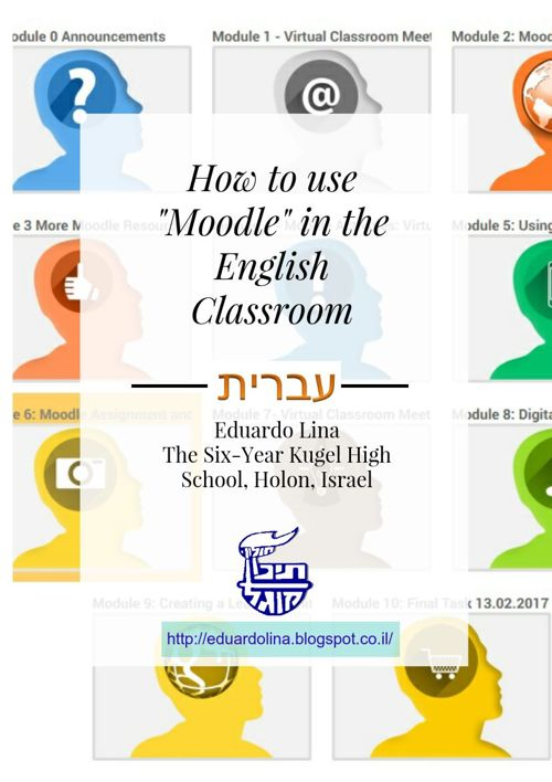 How to use Moodle in the English (and Spanish) Classroom