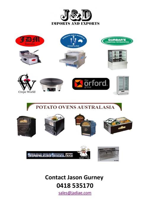 J & D Imports and Export P/L Product Catalogue