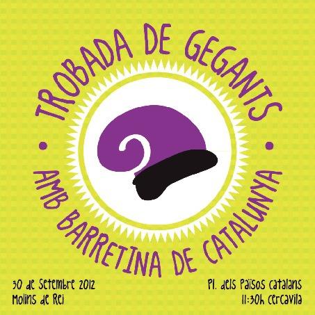 Trobada de Gegants amb Barretina de Catalunya