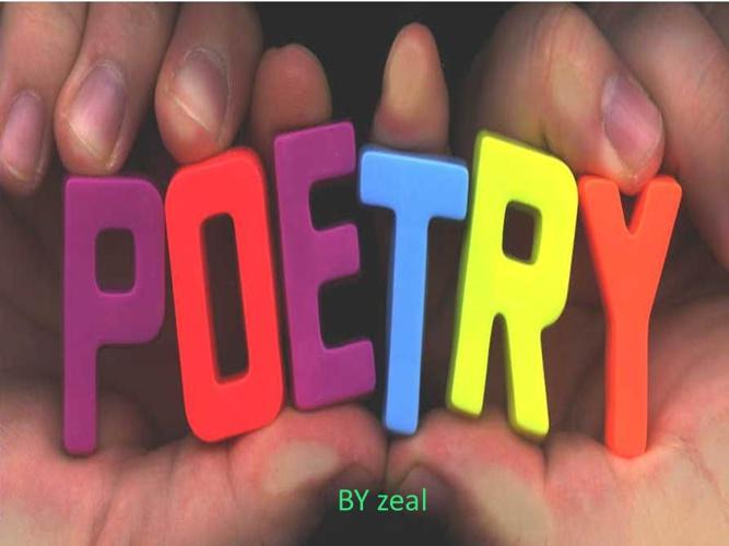 Zeal's poems