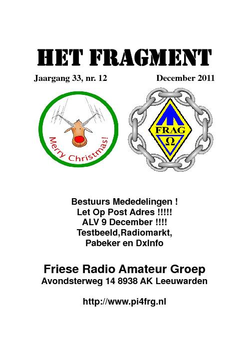 FRAGMENT DECEMBER 2012