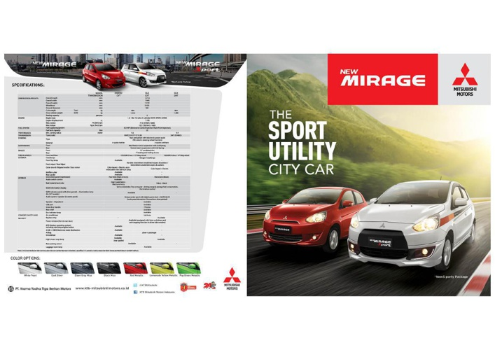 CATALOGUE NEW MIRAGE AND NEW MIRAGE SPORT