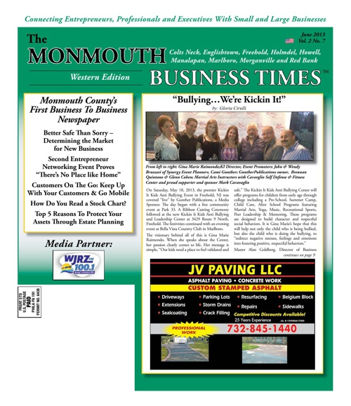 Monmouth Business Times June 2013