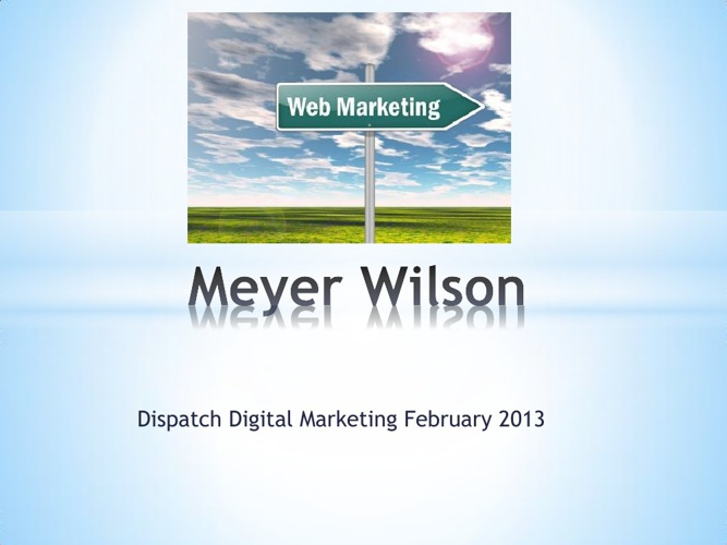 Meyer Wilson SEO SEM