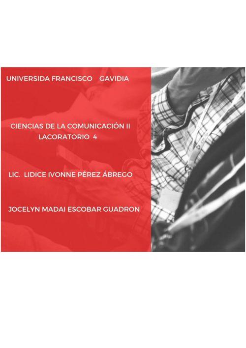 CIENCIAS DE LA COMUNICACION II