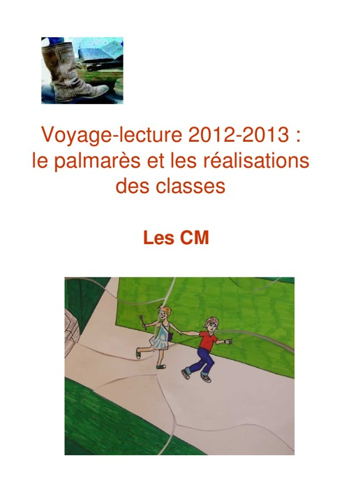 Voyage-lecture realisations CM 2012-2013