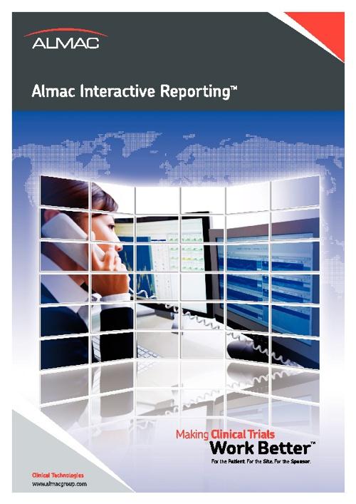 Almac Interactive ReportingTM