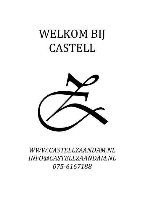 Wijnkaart Castell Bites & Steaks