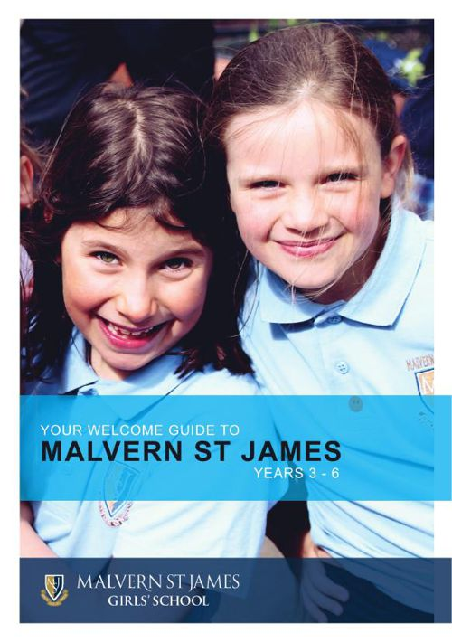 MSJ Welcome booklet 3-6 2015 AW