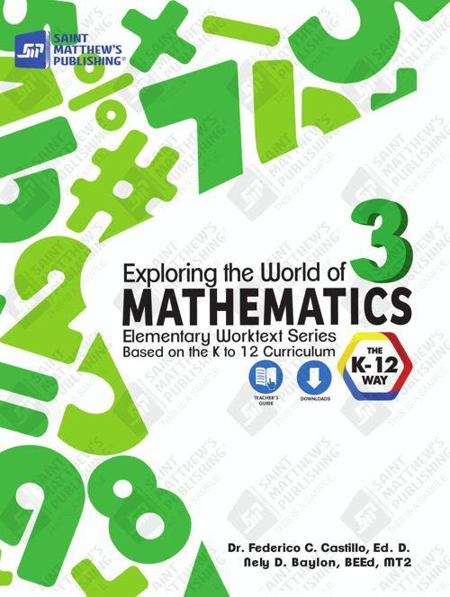 Exploring the World of Mathematics 3