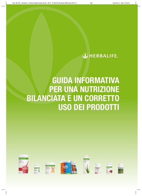 Guida ai prodotti Herbalife