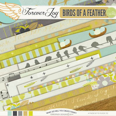 BIRDS OF A FEATHER | by ForeverJoy Designs