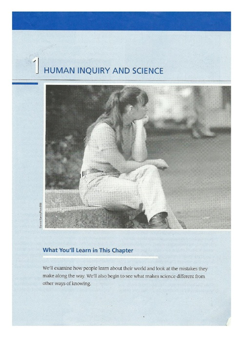 The Basics of Social Research-Chapter 1