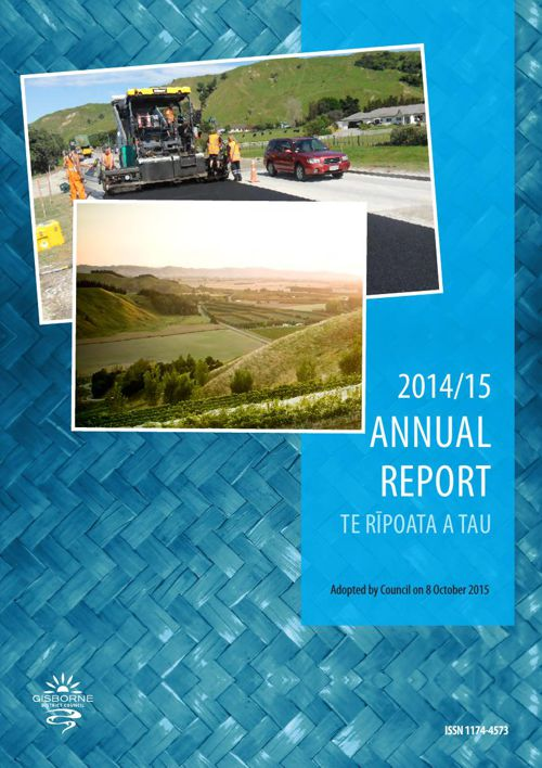 2014/15 Gisborne District Council Annual Report