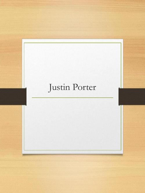 Justin Porter Journal