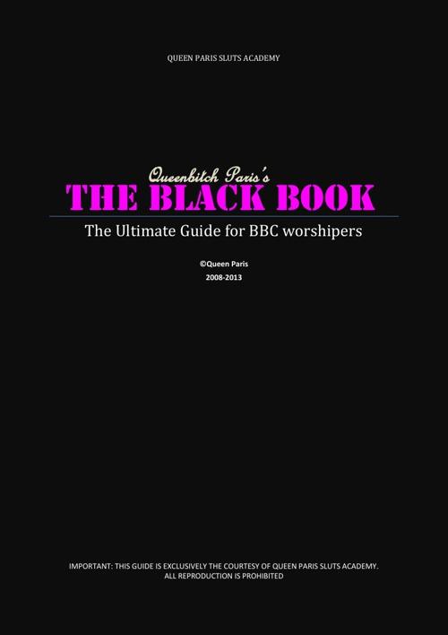 Queen Paris's BLACK BOOK