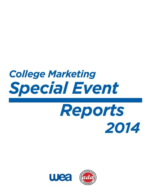 College Marketing Special Event Wrap-ups 2014