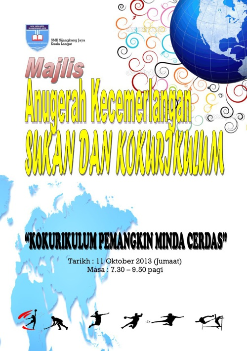 Majlis Anugerah Kecemerlangan Sukan dan Kokurikulum 2013