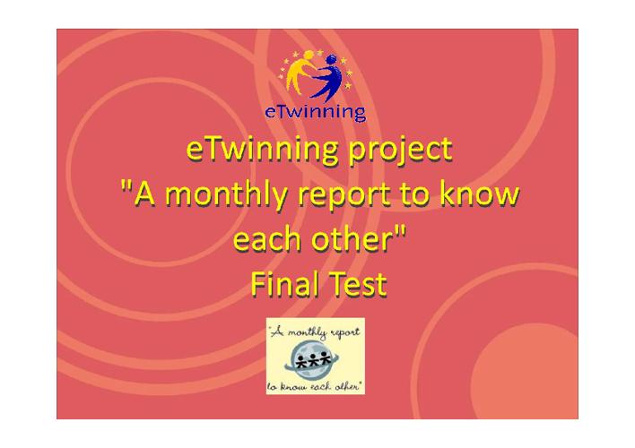 eTwinning test
