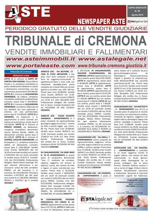 Cremona aprile 2015