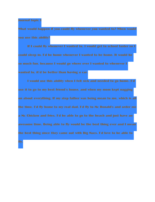 Journal Book 1  By Eva