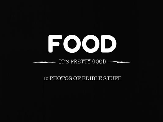 Gaven's Food Photos