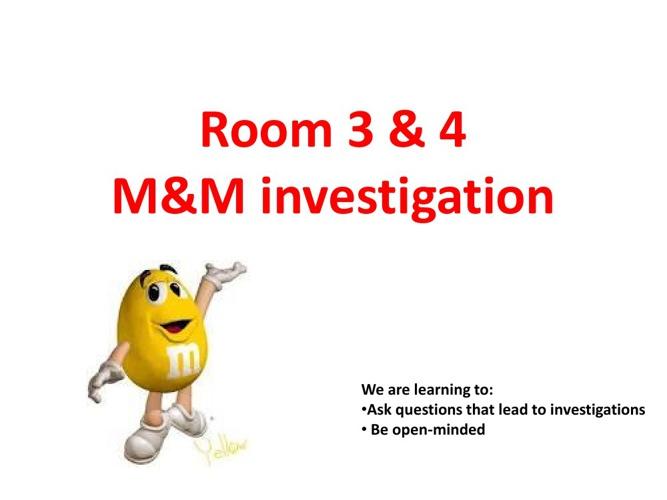 M & M Investigation