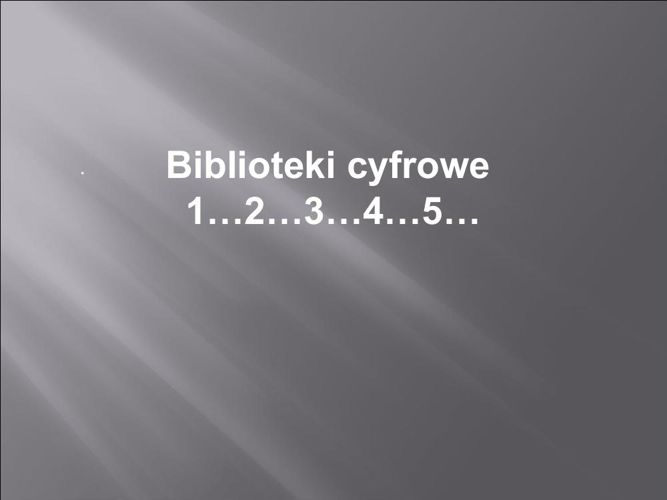 Biblioteka cyfrowa