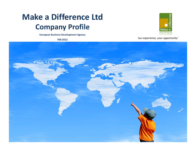 Make a Difference Ltd Profile