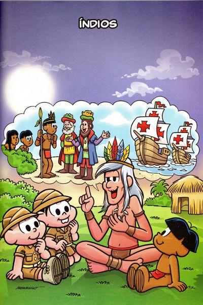 História do Brasil em quadrinhos (os Índios)
