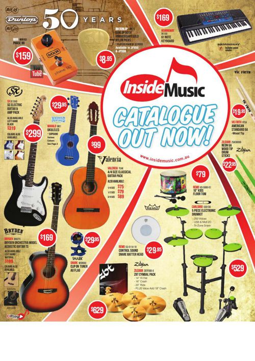 Inside Music 2015 Catalogue