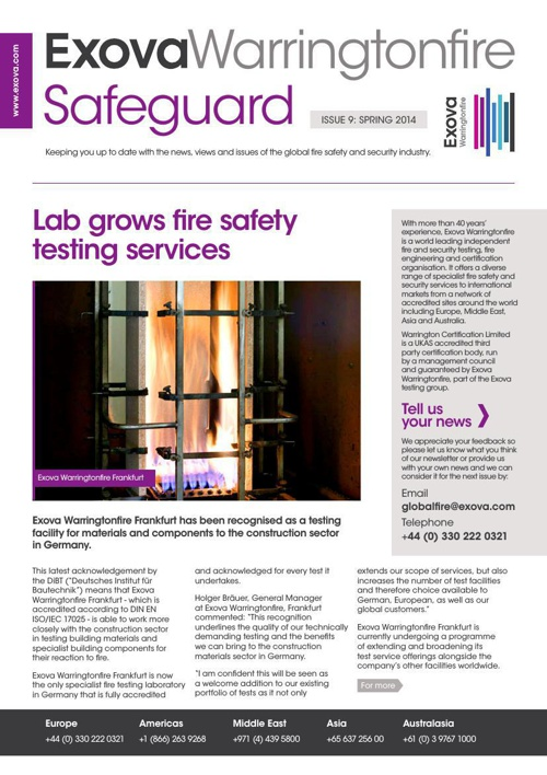 EWF Safeguard Issue 9