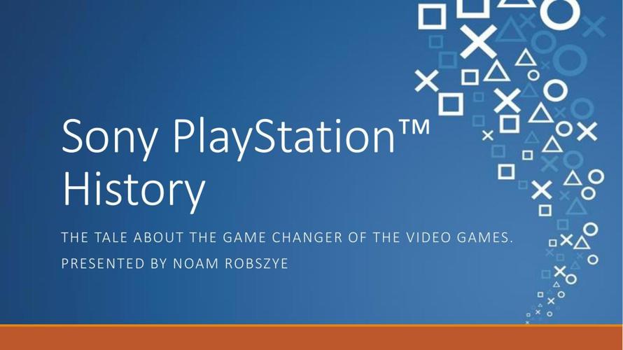 Sony Playstation™ History