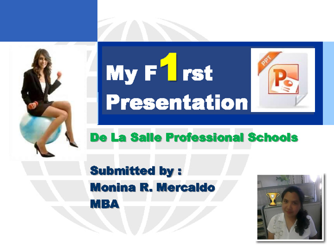 My First PowerPoint