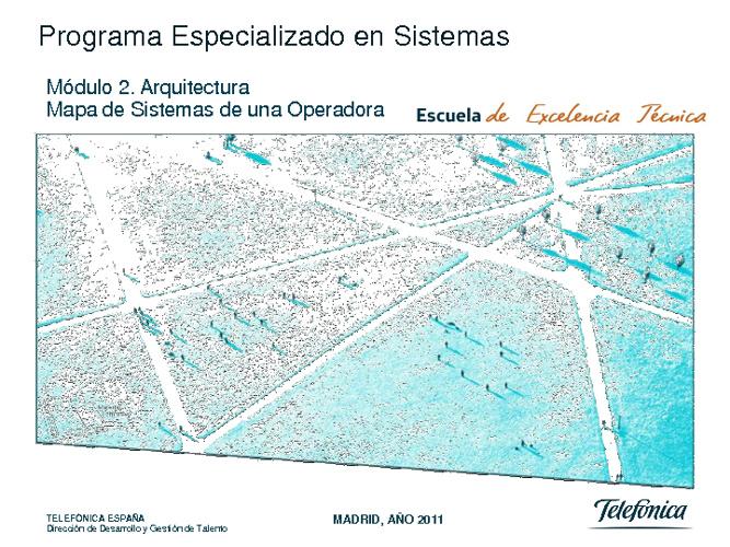 Mapa de sistemas de una Operadora 2ª Parte