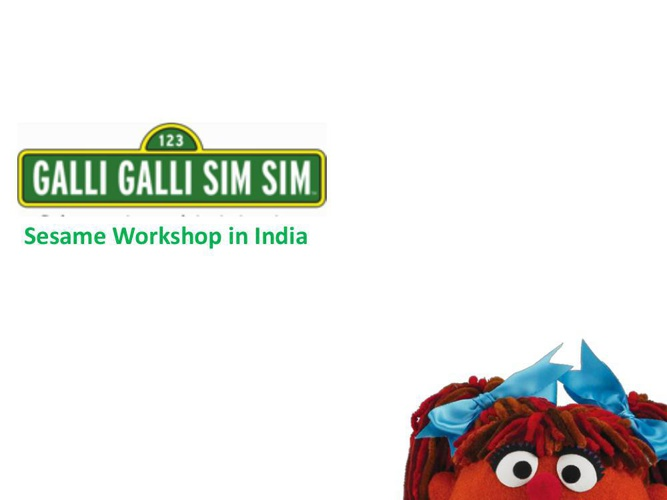 Overview of Sesame Workshop in India