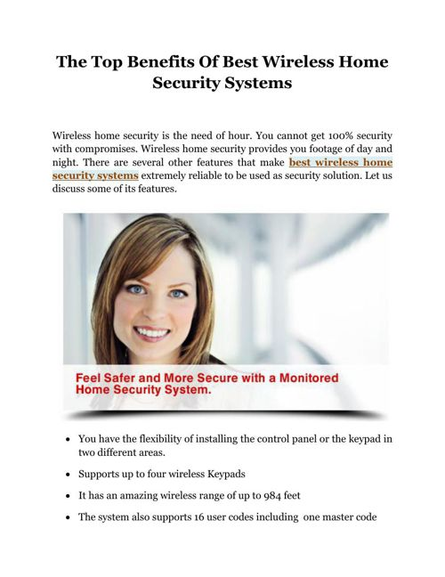 The_Top_Benefits_Of_Best_Wireless_Home_Security_Systems