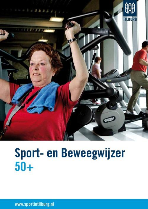 Sport- en beweegwijzer 50+