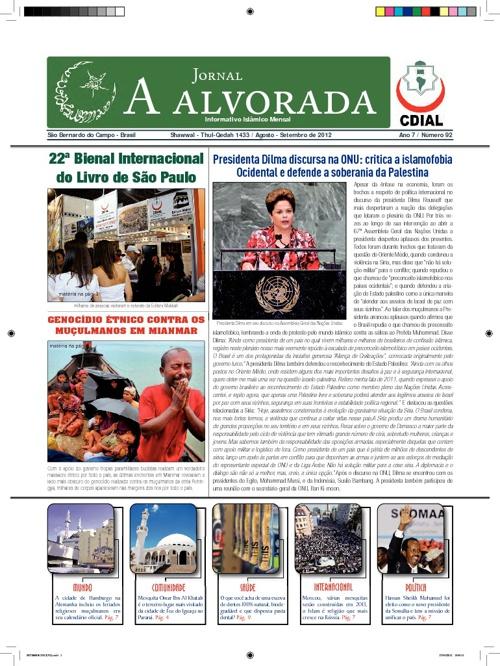Jornal A Alvorada - Setembro