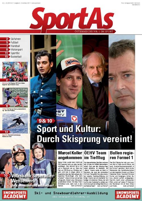 SportAs - Österreichs Sportmagazin Nummer 1