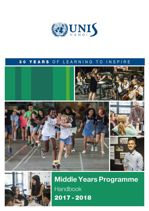 MYP Curriculum Handbook 2017-2018